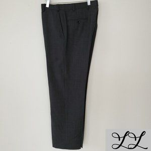 2 PAIR Brooks Brothers 346 Pants Dark Light Gray